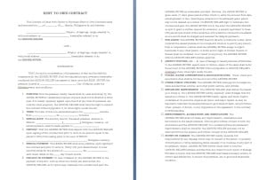 Rent to Own Contract Template Image
